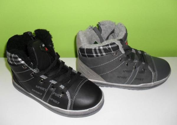 Zimná obuv  Chlapčenská športová obuv 917d52ff083
